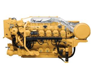 Caterpillar 3512c Generatorset