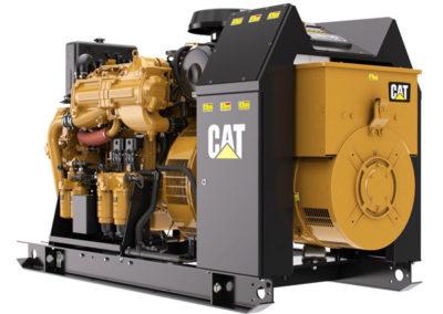 Caterpillar C7.1 Generator set   Power   200 kW (250kVa)    RPM   1500 tpm (50 Hz) or 1800 tpm (60 Hz)   Configuration   6 Inline, 4 takt Diesel   Suction   Turbocharged, Aftercooled