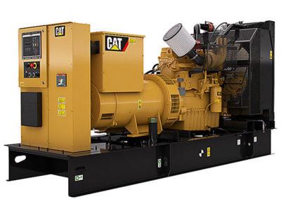 Caterpillar C9.3 Generator set   Power   250R ekW (313 kVA) at 50 Hz, 300 ekW (375 kVA) at 60 Hz    RPM   1500 tpm at 50 Hz or 1800 tpm at 60 Hz   Configuration   6 Inline, 4 takt Diesel   Suction   Turbocharged, Aftercooled