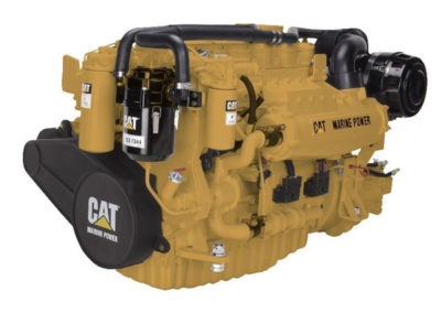 Caterpillar C7.1   Power | 405-507 Hp    RPM | 2900 rpm   Configuration | In-line 6, 4-Takt Diesel   Suction | Turbocharged, aftercooled