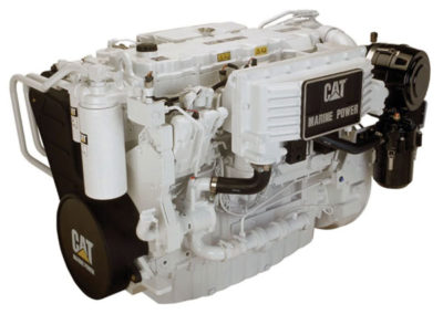 Caterpillar C9   Power | 510-576 Hp    RPM | 2500 rpm   Configuration | 6 In-line , 4-takt Diesel   Suction | Turbocharged, aftercooled