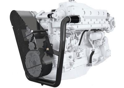 John Deere 6068    Vermogen   115 – 168 pk   Toerental   2300 – 2600 rpm   Configuratie   4 cil in-lijn, 4 takt diesel  Aanzuiging   Turbocharged