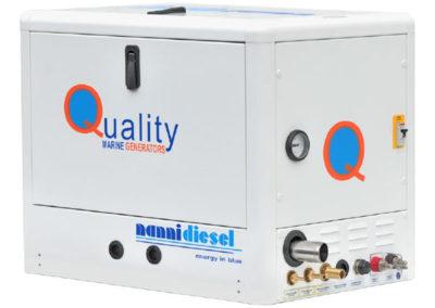 Nanni QMF Generatorset kVA max   3.5 – 6 kVA max   3.2 – 5.5 Fase   Mono Toeren   3000