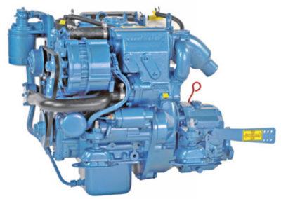 Nanni Diesel N2.14  Power | 14 Hp (10.3 kW)   RPM | 3600 rpm   Configuration | 2 In-line, 4 takt Diesel  Suction | Atmospheric