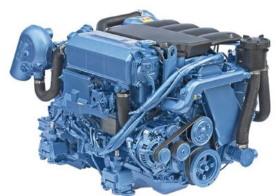 Nanni Diesel T4.230  Power | 230 Hp (169.2 kW)   RPM | 3600 rpm   Configuration | 4 In-line, 4 takt Diesel  Suction | Turbocharged, Aftercooled