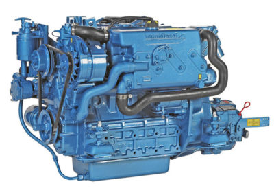 Nanni Diesel N4.40  Power | 40 Hp (29.4 kW)   RPM | 2800 rpm   Configuration | 4 In-line, 4 takt Diesel  Suction | Atmospheric