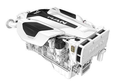 MAN I6 D2676   Power | 730 – 800 Hp    RPM | 2300 rpm   Range | Light duty