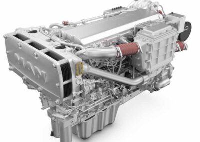 MAN D2676   Power | 560 – 650 Hp    RPM | 2100 rpm   Range | Medium duty