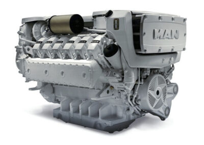MAN D2862   Power | 1019 – 1450 Hp    RPM | 2100 rpm  Range | Medium duty