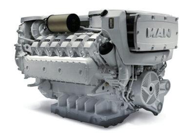 MAN D2862   Power | 1019 – 1450 Hp    RPM | 2100 rpm  Range | Medium duty