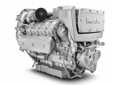 MAN D2868   Power | 800 – 900 Hp    RPM | 2100 rpm   Range | Medium duty